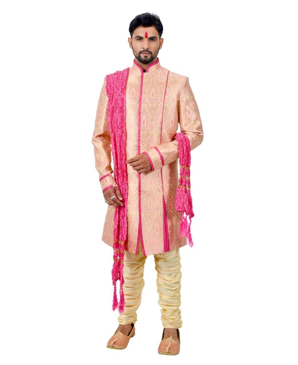 Printed Silk Pink Coats