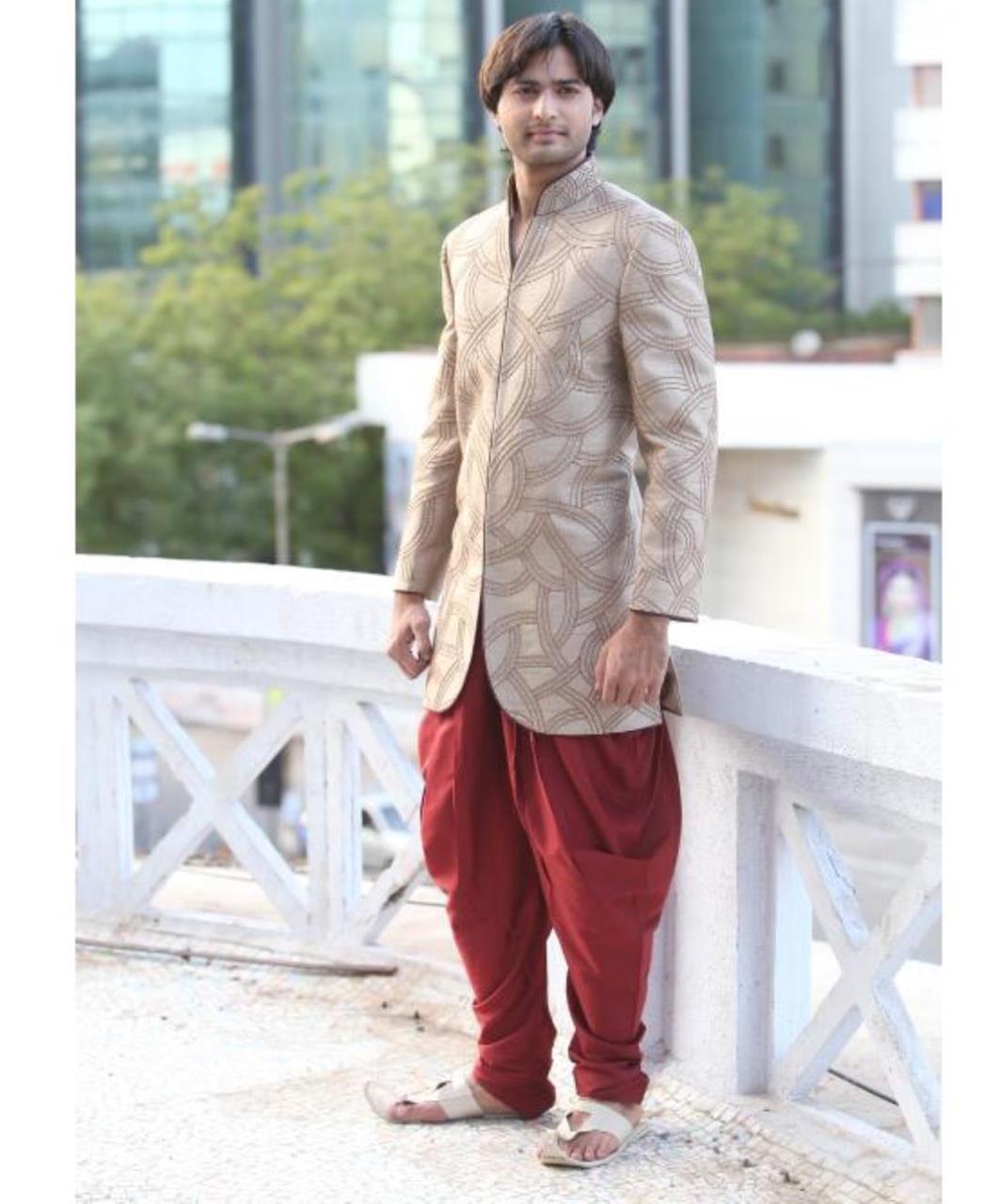 Printed Cotton Beige Coats