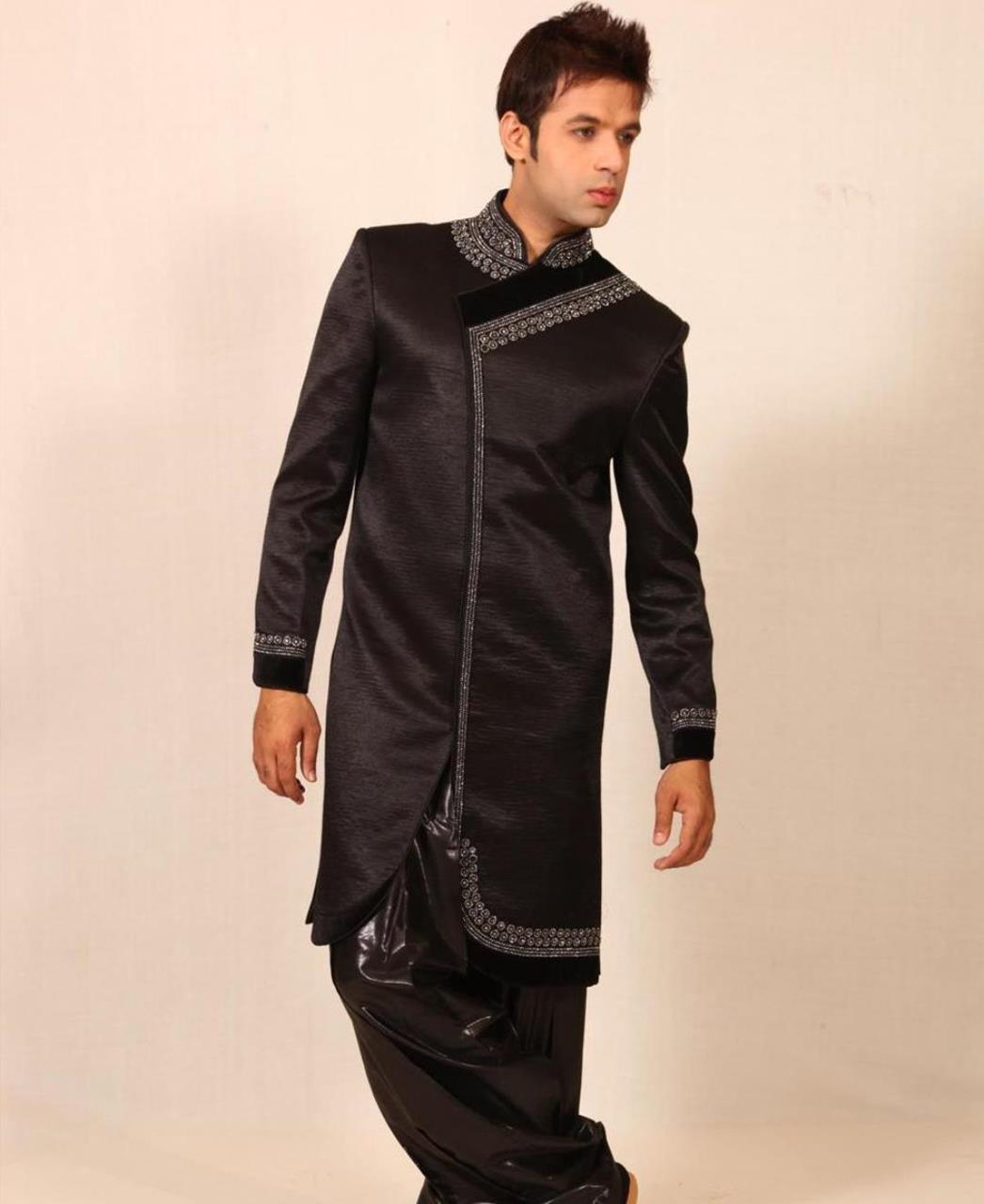 Stones Silk Black Coats