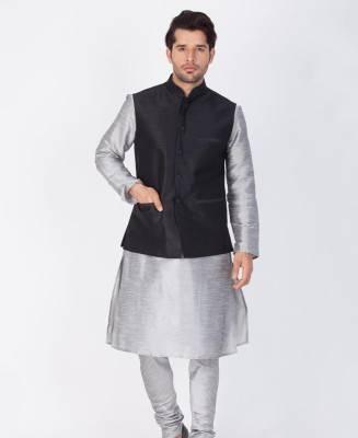 Plain Cotton Gray Coats