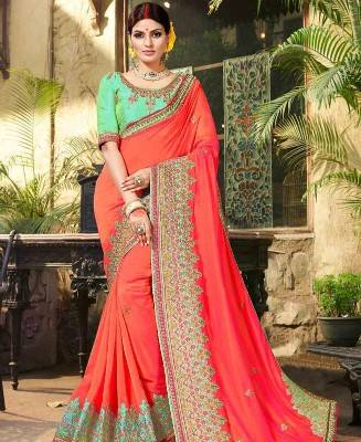 Embridered Saree