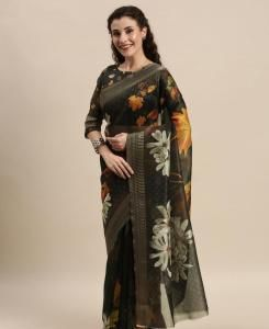 Silk Saree in Black