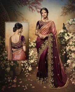 Silk Saree in Purple