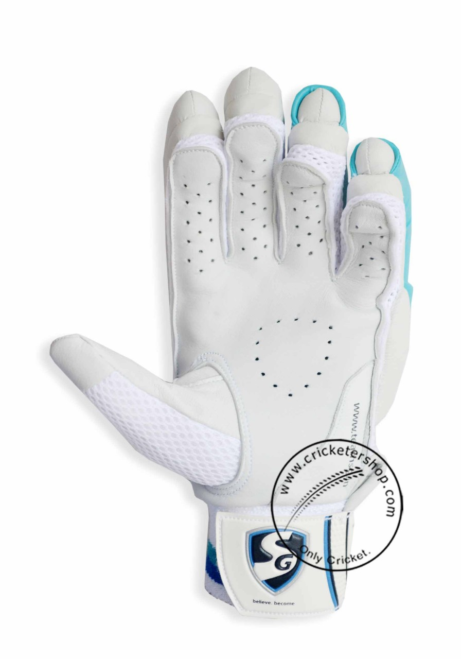 5a9a65a8e4c SG Test Pro Cricket Batting Gloves Mens Size Right and Left Handed