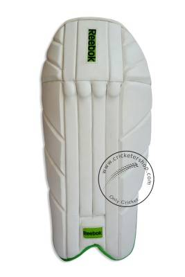 64dae9a8fdd0 Reebok Test Wicket Keeping Leg Guard Pads Mens Size