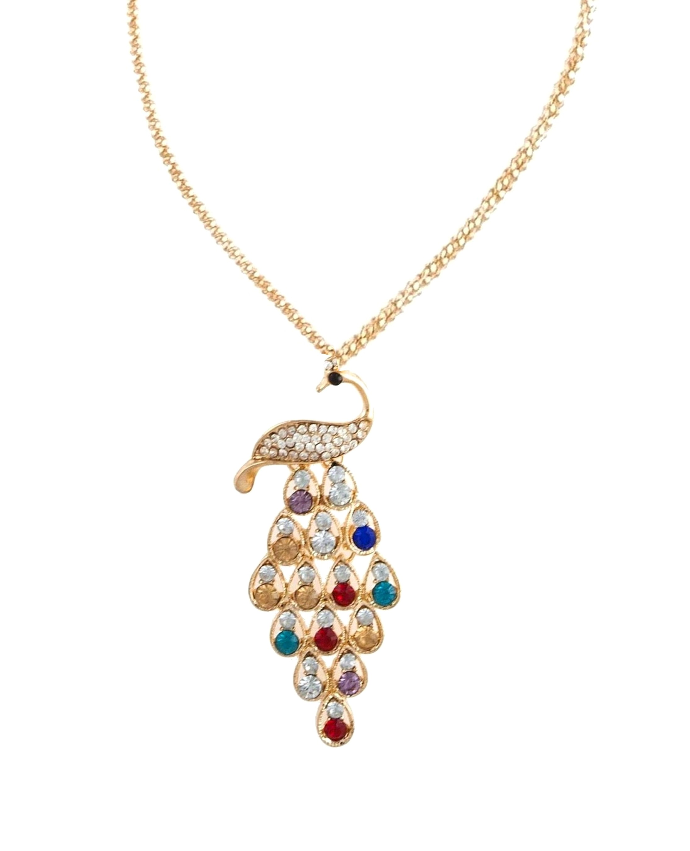 girls in at jewellery women charm elements low blue prices plated swarovski designer dp nevi party necklace wear for buy choker online rhodium stylish