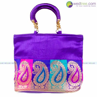 Hand Bag   - Fancy hand bag made of fabric return gift
