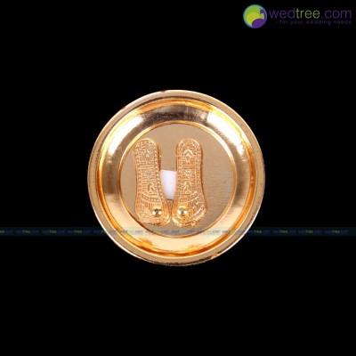 Ramar Padam - Ramar padam made of zinc alloy with gold electro plating return gift