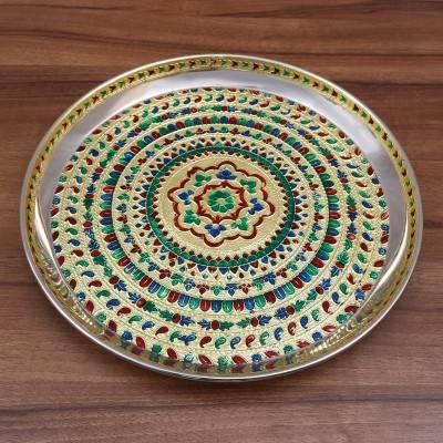 Minakari Plate 12 inch return gift