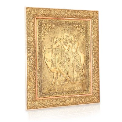 Wall Hanging- Oxidised Radha Krishna  return gift