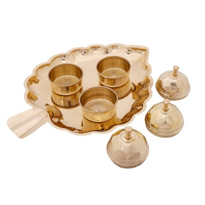Pooja plate - Made up of brass return gift