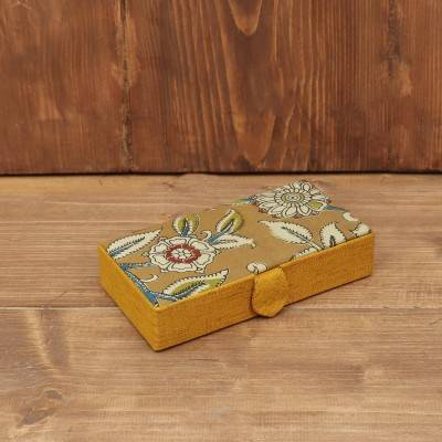 Kalamkari Rectangle Jewel Box return gift