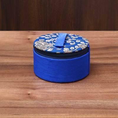 Kalamkari Bangle Box 5.5 inch - Indian return gift