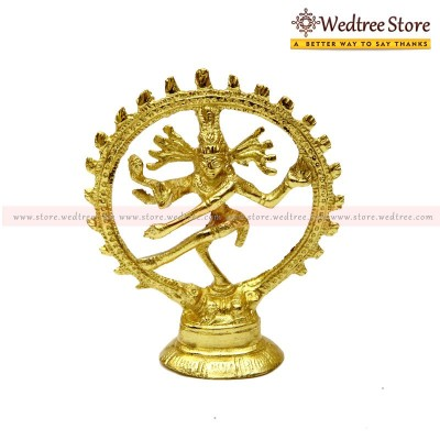 Nataraja - Made up of brass return gift