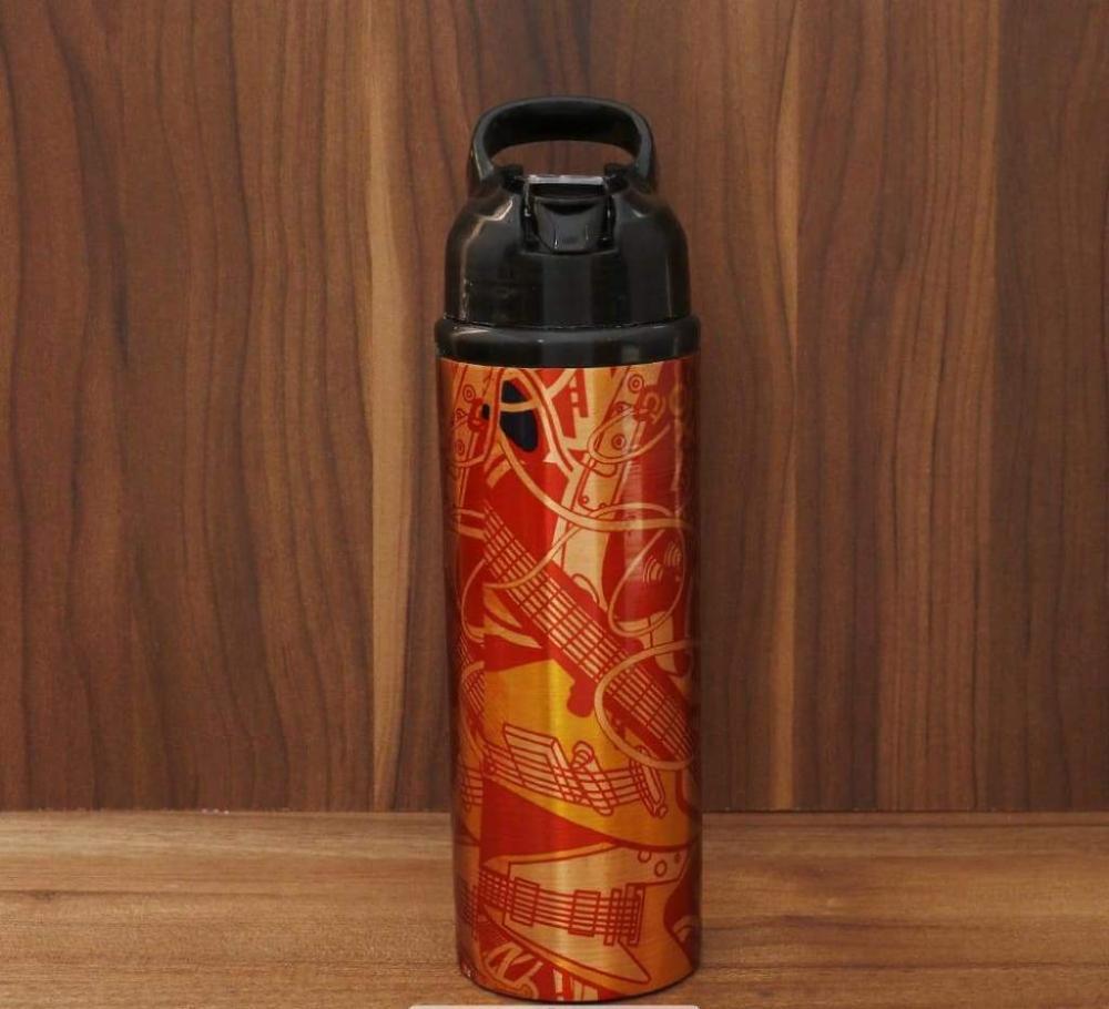 Copper digital printed sipper bottle return gift