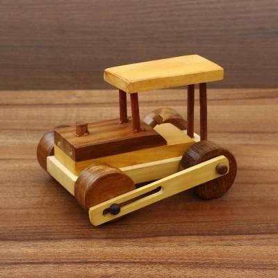 Wooden Bulldozer Indian return gift