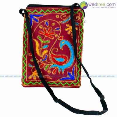 Sling Bag - Fancy sling bag made of fabric return gift