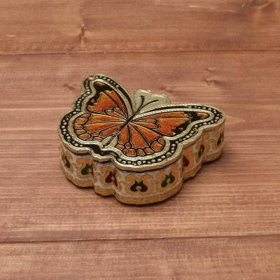 Minakari Butterfly Dry Fruit Box return gift