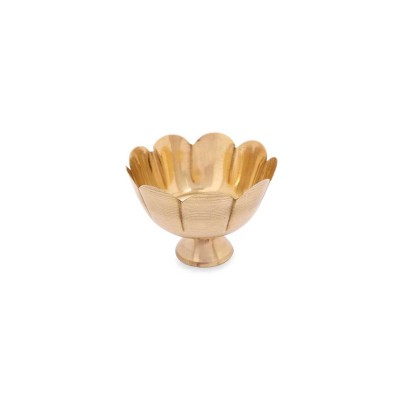 Bowl - Lotus bowl small Made up of brass return gift