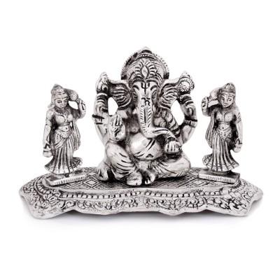 Oxidised - riddhi siddi ganesh - White Metal Oxidised - riddhi siddi ganesh