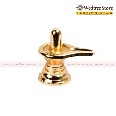 Lingam - Lingam big is made of zinc alloy with gold plating