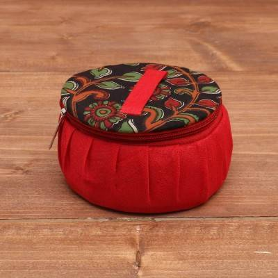 Kalamkari Jewel Box 4 inch return gift
