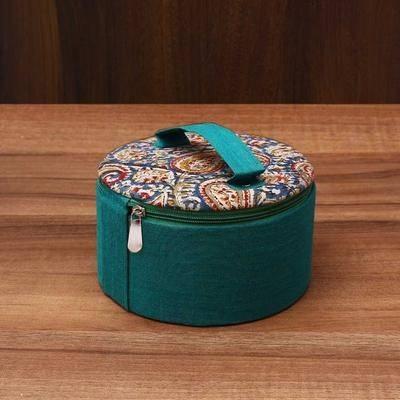 Kalamkari Bangle Box 6.5 inch - Indian return gift
