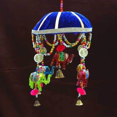 Designer Elephant Thoran with umberlla Indian return gift