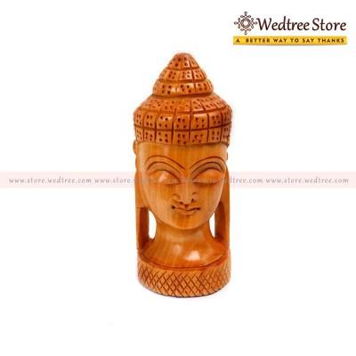Wooden Buddha - Buddha means