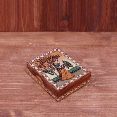 Gemstone Painting Box 5 x 4 inch return gift
