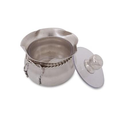 Pooja box - Pooja box made of german silver return gift