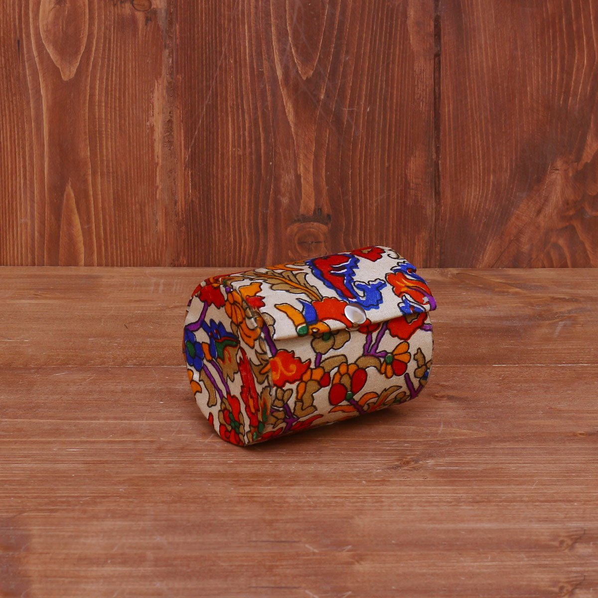 Bangle Holder with Floral Prints Small return gift
