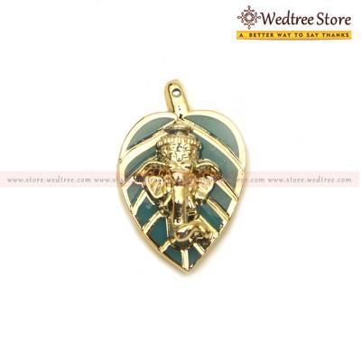 Leaf Ganesha  return gift