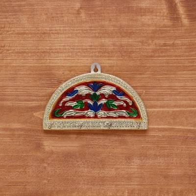 Golden Minakari key Hanger Half Circle return gift