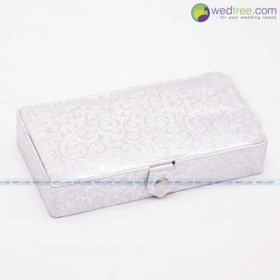 Jewel Box - Rectangle Small Jewellery Box to hold Bangles  Ear rings and Jewellery Sets return gift