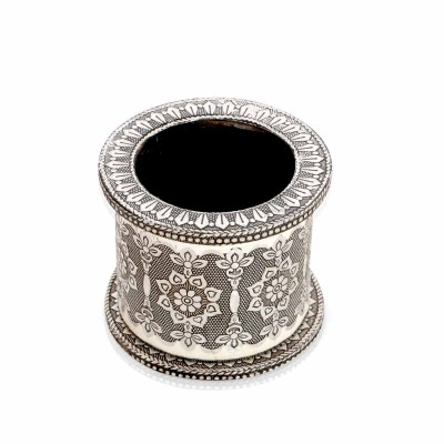 Pen Stand - Oxidised Round Pen Stand