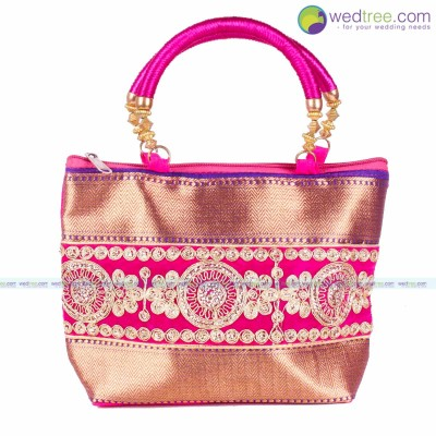 Hand Bag  - Fancy hand bag made of fabric return gift