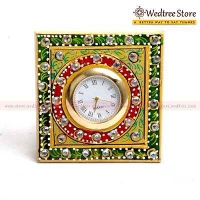 Clock - A royal clock crafted in Marble return gift