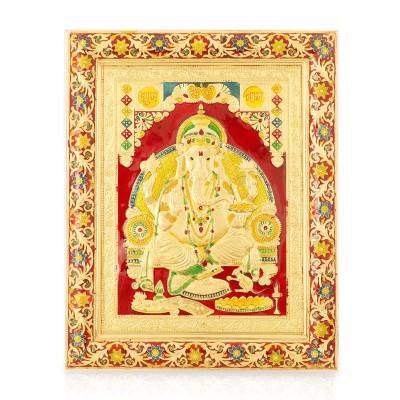 Wall Hanging- Ganesha with Minakari Design return gift