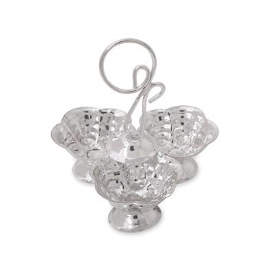 kum kum set - Kum kum holder made of german silver return gift