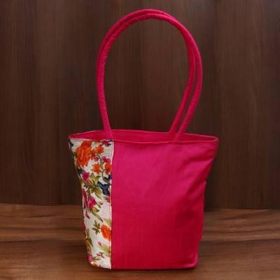 Shoulder bag Floral Design Indian return gift