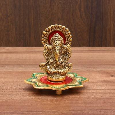 Ganesha idol on Lotus Indian return gift
