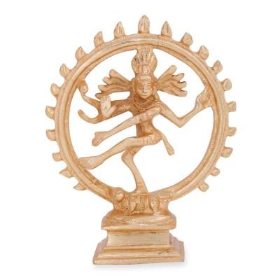 Nataraja - Nataraja gold finish Made up of brass return gift
