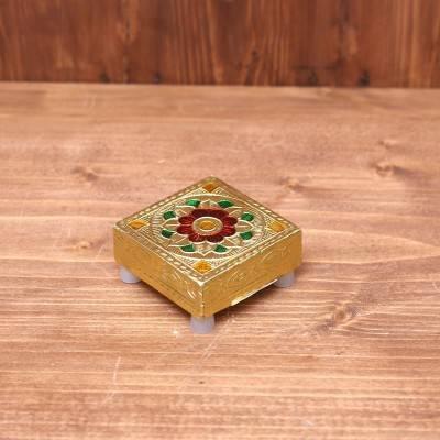 Minakari Manai 2 x 2 inch return gift