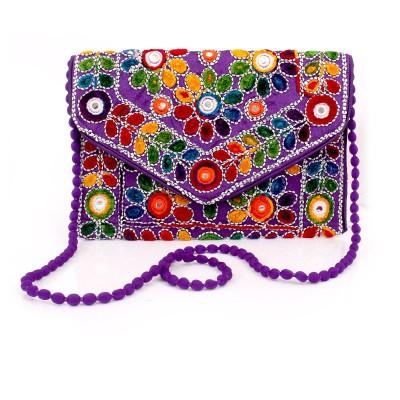 Sling Bag - Sling Bag - Thread & Mirror Work