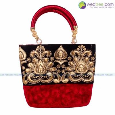 Hand Bag   Fancy Hand Bag Made Of Fabric Return Gift