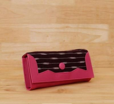Ikkat flap purse return gift