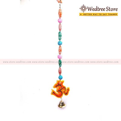Thoranam - Thoran with OM beads made of wood return gift