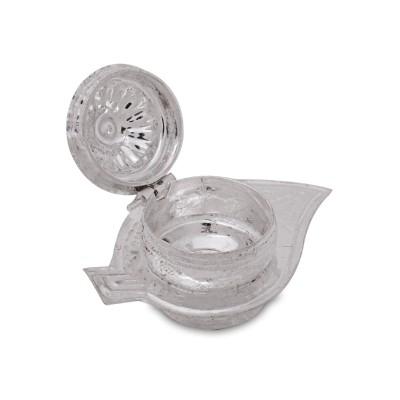 kum kum dibbi - Kum kum holder made of german silver return gift