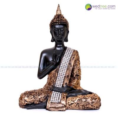 Samadhi Buddha - Samadhi  Buddha Statue made of plaster of paris .